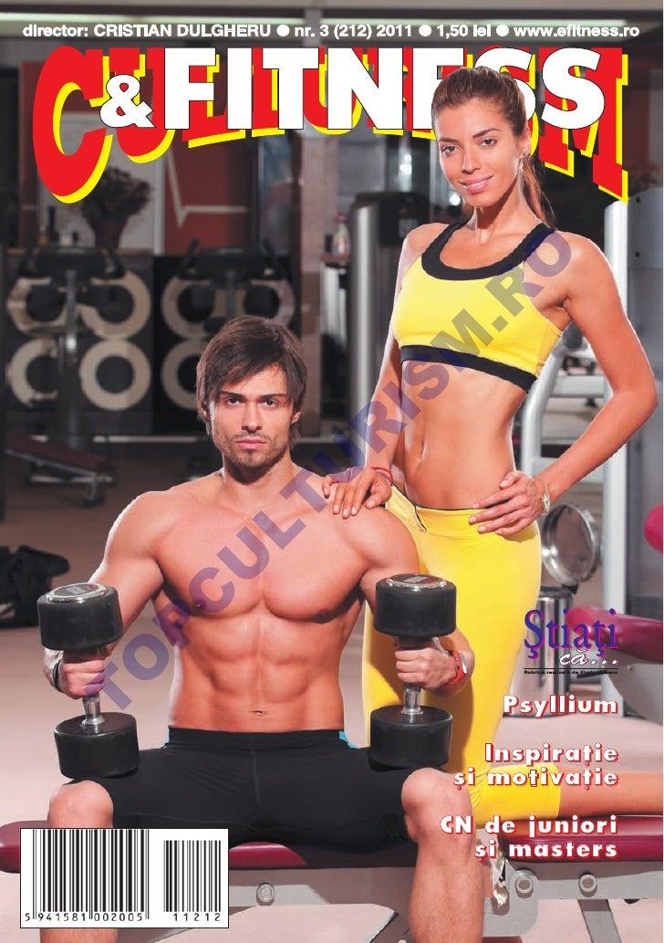 Revista Culturism si Fitness 212 (3/2011)