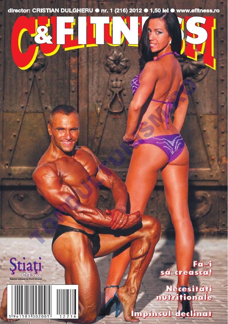Revista Culturism & Fitness nr.216 (1/2012)