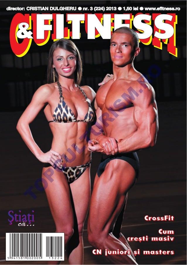 Revista Culturism si Fitness nr. 224 (3/2013)