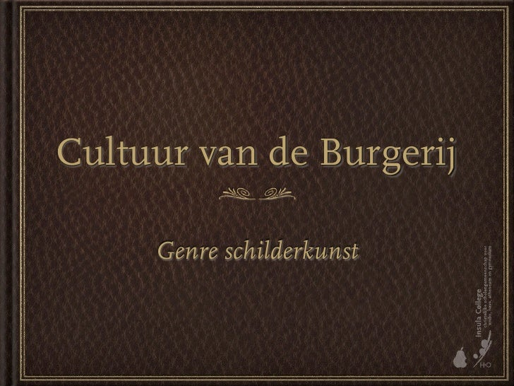 Cultuur Van De Burgerij  Schilderkunst2 V5