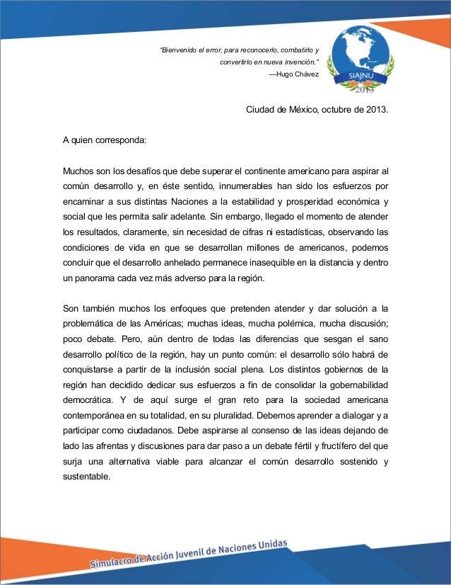 Manual Cumbre de las Américas.