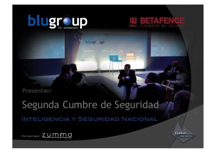 Segunda Cumbre de seguridad by Blugroup