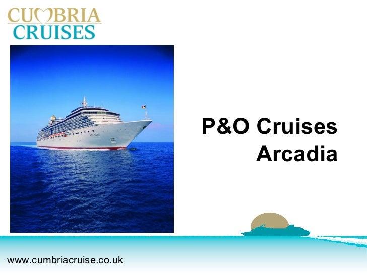 Cumbria cruises - Arcadia