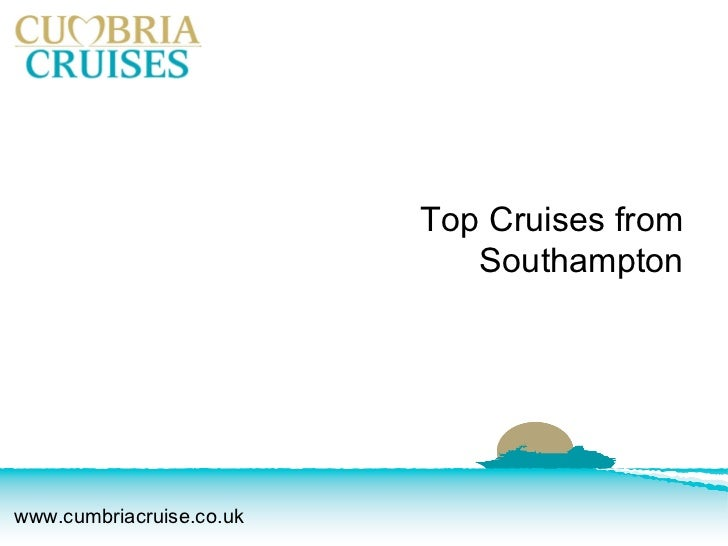 Top Cruises from Southampton