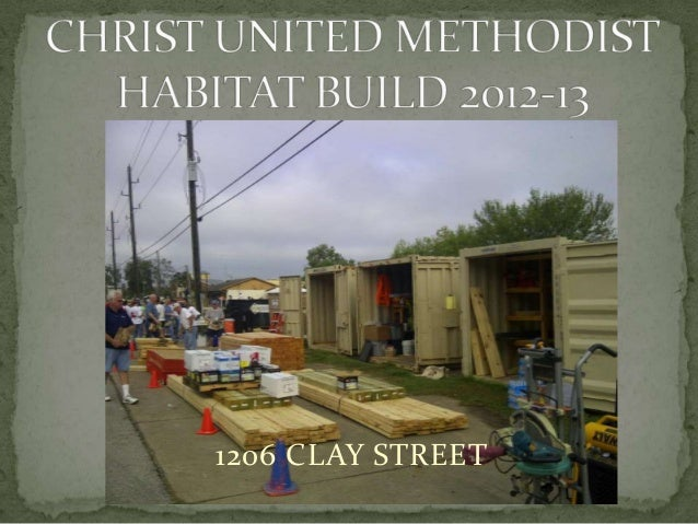 Christ Church's 12th Habitat for Humanity Home