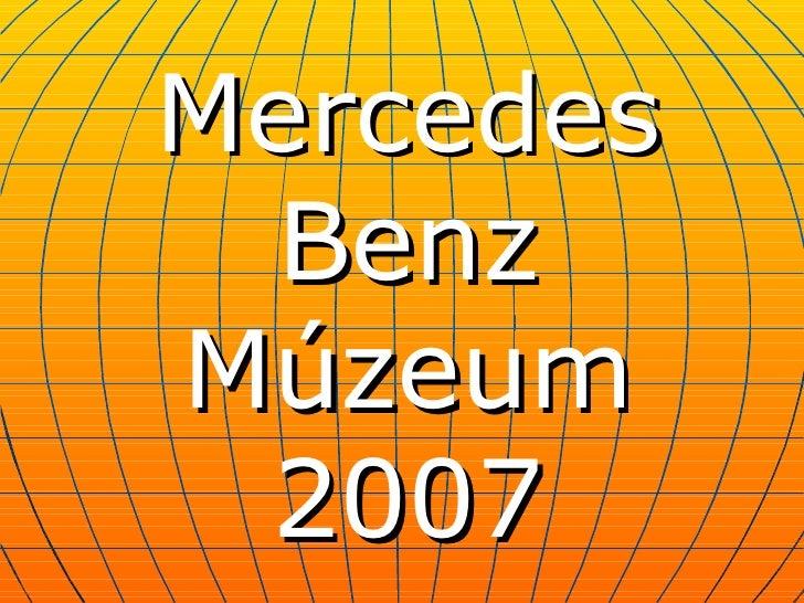Cu Mercedes Benz Muzeum