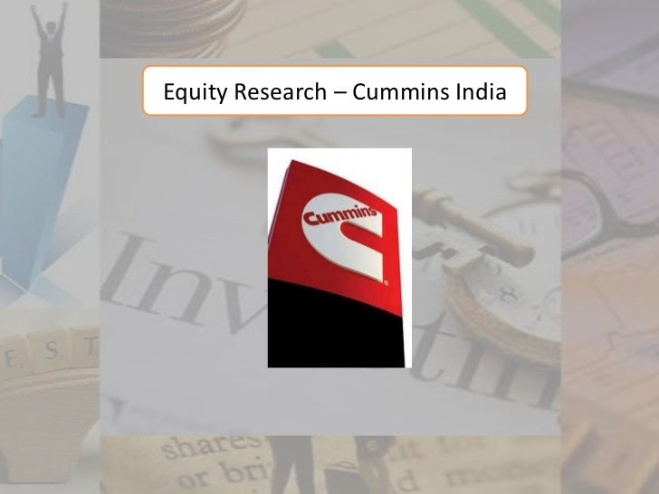 Equity Research – Cummins India