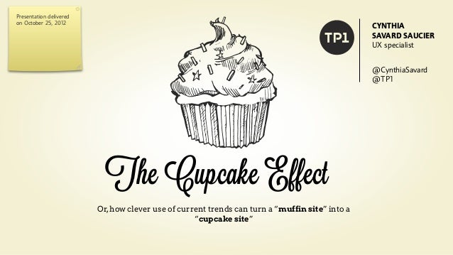 The Cupcake Effect