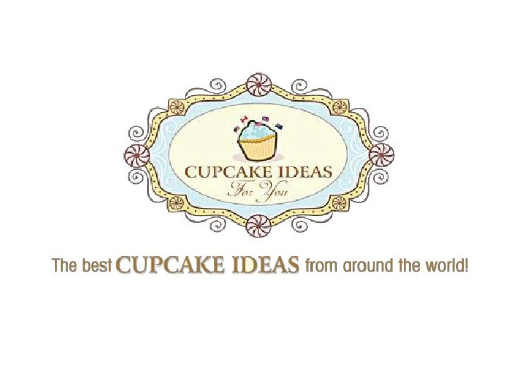 Cupcake Ideas Lemon and Poppy Seed & Pea in a Pod Mini Cupcakes