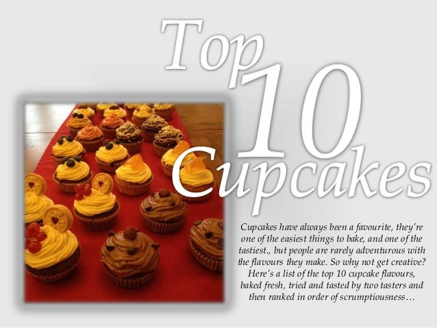Cupcakes have always been a favourite, they're one of the easiest things to bake, and one of the tastiest., but people are...