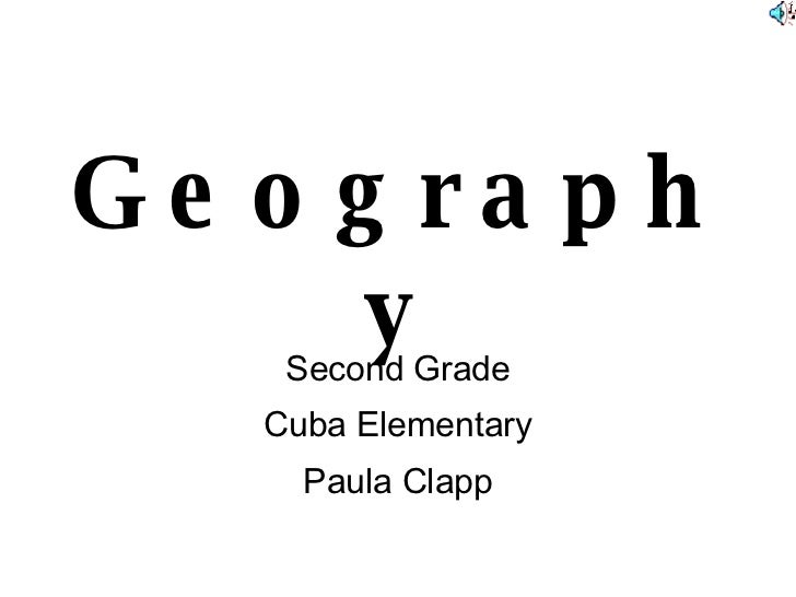 Geography Second Grade Cuba Elementary Paula Clapp
