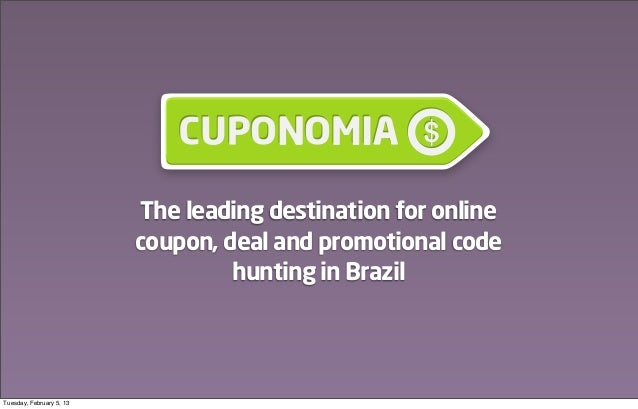 Cuponomia: Online Coupons in Brazil