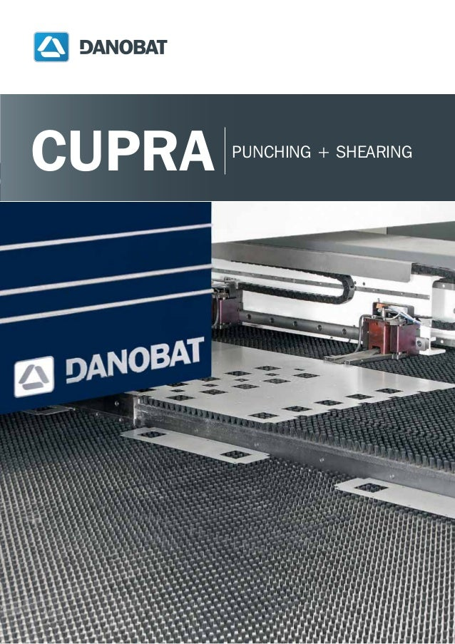 Punch + Shear combination machine: CUPRA of DANOBAT