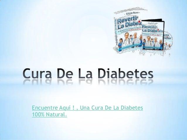 Cura de la diabetes