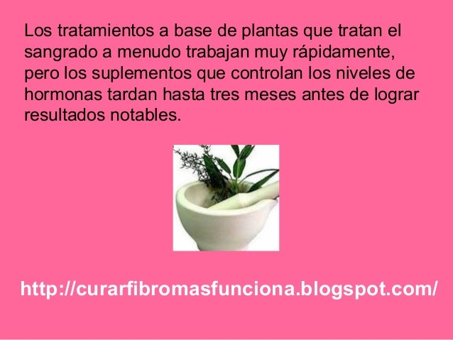 http://curarfibromasfunciona.blogspot.com/ Los tratamientos a base de plantas que tratan el sangrado a menudo trabajan muy...