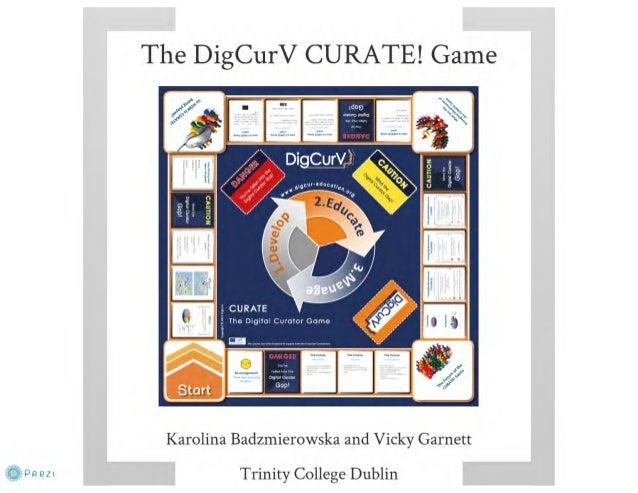 DigCurV CURATE Game