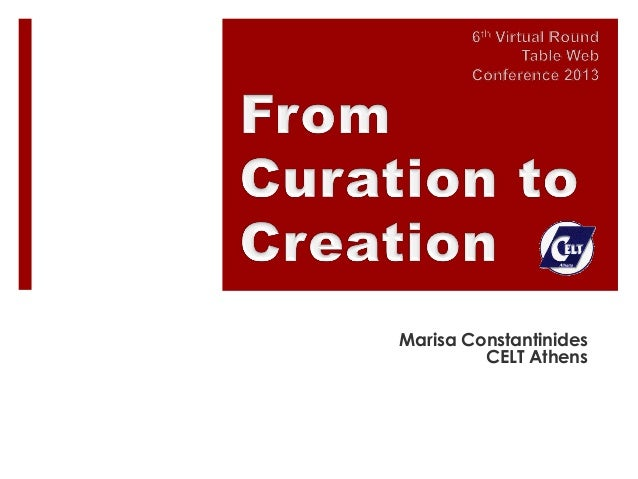 From Curation to Creation