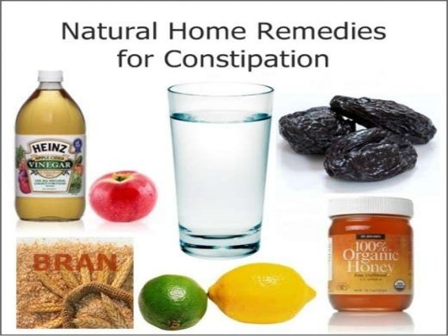 Cure constipation with natural remedies