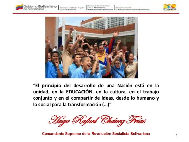 """""""El principio del desarrollo de una Nación está en la unidad, en la EDUCACIÓN, en la cultura, en el trabajo conjunto y en ..."""