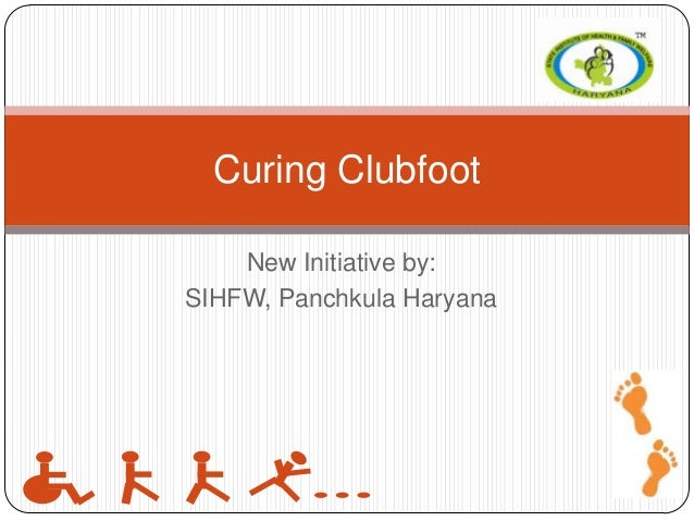 Curing clubfoot