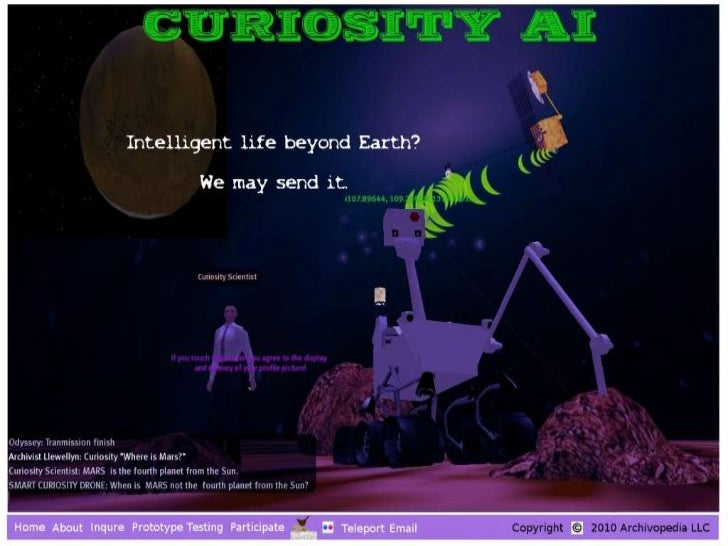 Curiosity AI - Artificial Intelligence in Virtual Worlds