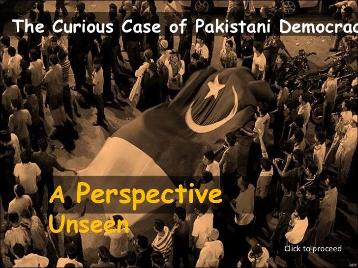 Curious case of pakistan