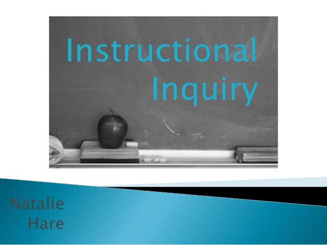 CURR 511 Instructional nquiry