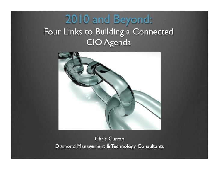 4 CIO Priorities for 2010
