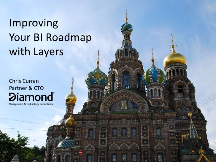 ImprovingYour BI Roadmapwith LayersChris CurranPartner & CTO<br />