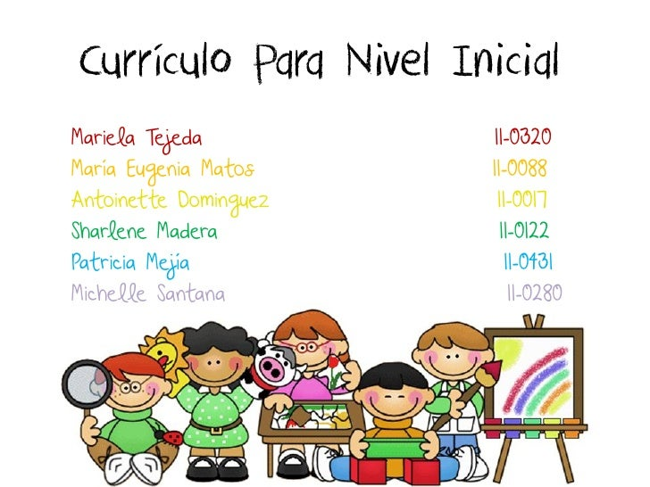 Planificaci n curr culo para nivel inicial for Diseno curricular educacion inicial