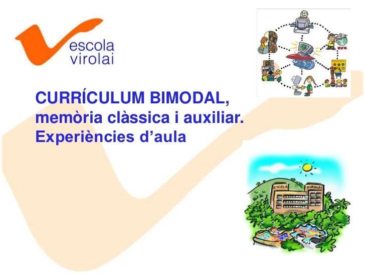 Currículum bimodal