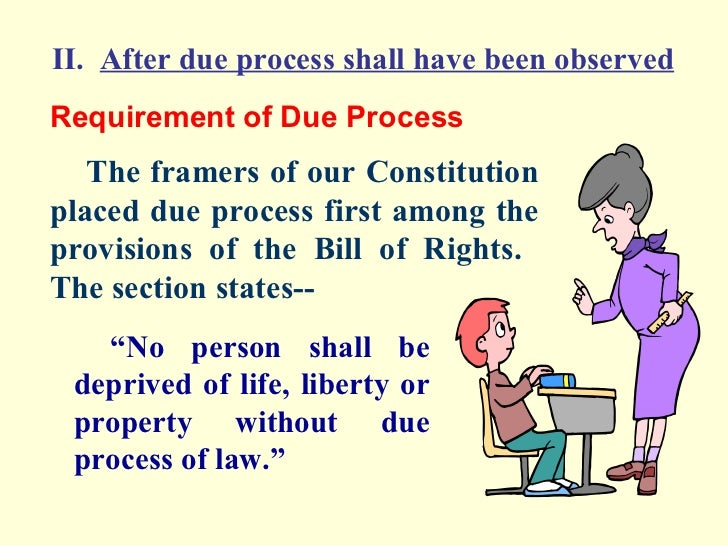 due process research paper Get an answer for 'why is due process important to individual rights' and find  research paper topics teachers  uses the same words in the due process clause .