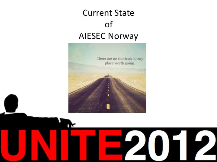 Current state of aiesec norway unite 2012