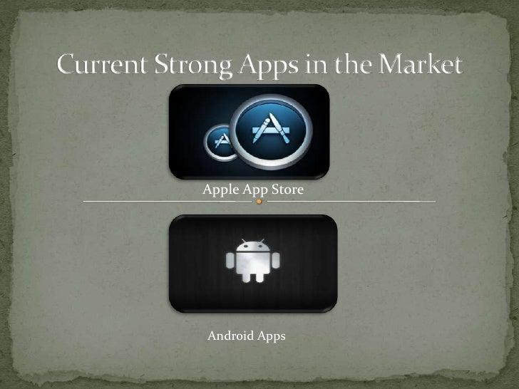 Apple App StoreAndroid Apps