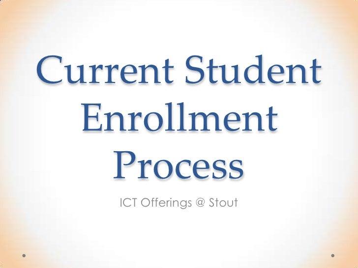 enrollment essay