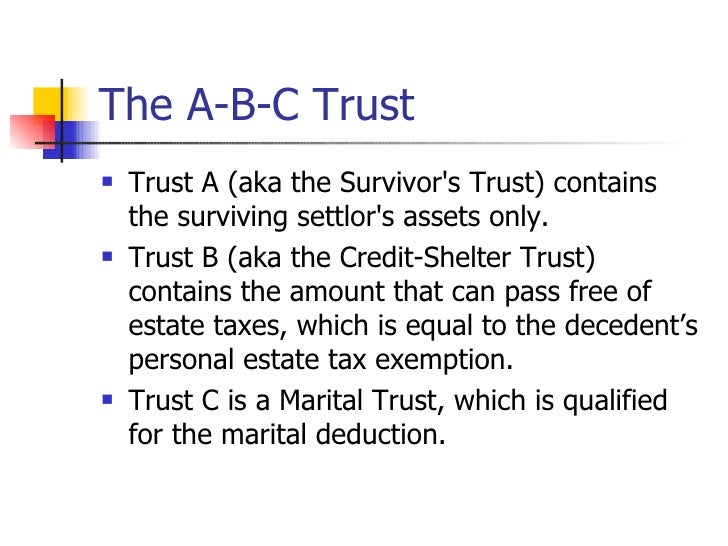 Qualified Personal Interest Property Trust