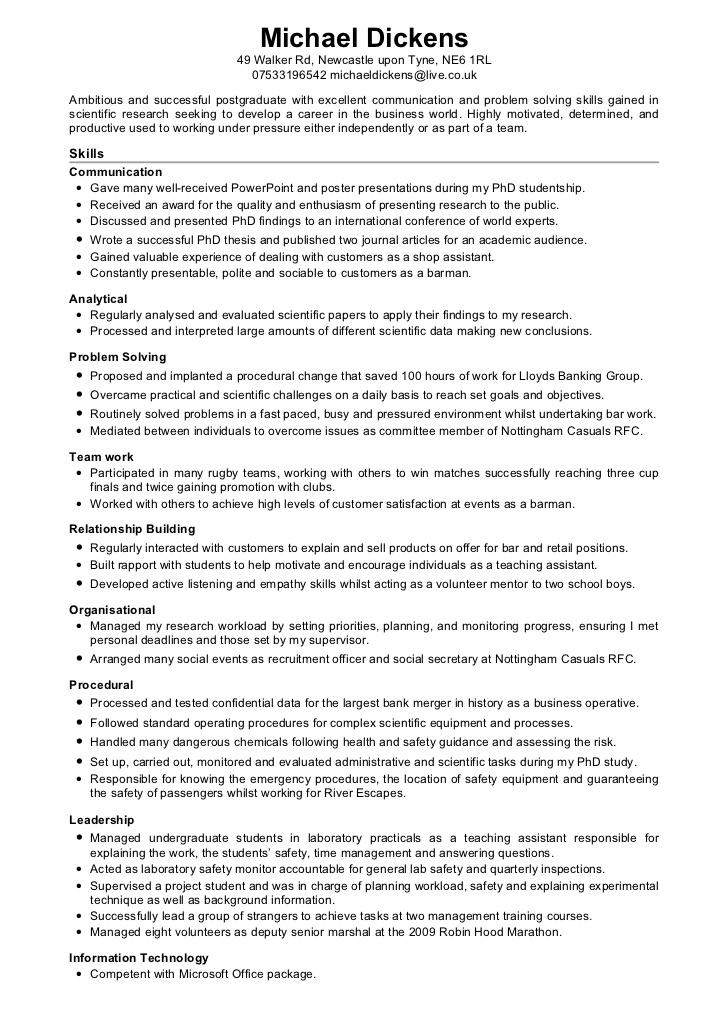 Bar Job Cv | Doc - www.mittnastaliv.tk