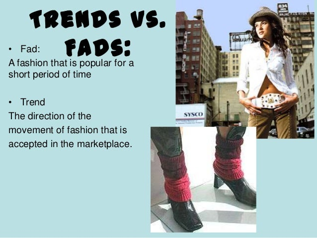 Current Trends In Fashion Fall 2012
