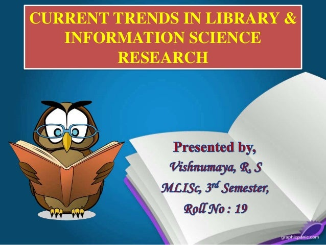 Current trends in library science research