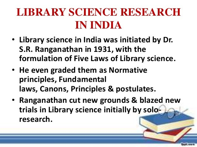 phd thesis in library science in india Phd library & information science programs phd in library & information science (phd lis) phd lis home progression & milestones exams, proposal & thesis.