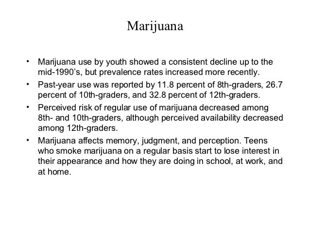 teens and marijuana essay One teen wounded, another killed while trying to steal marijuana: shortly   an open petition in the paper in support of reversing the marijuana stance in.