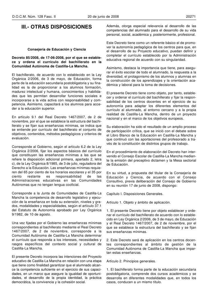 D.O.C.M. Núm. 128 Fasc. II                        20 de junio de 2008                                                 2027...