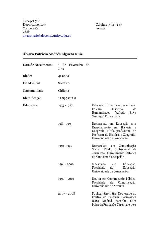 Tucapel 766Departamento 3                               Celular: 9 54 91 43Concepción                                   e-...