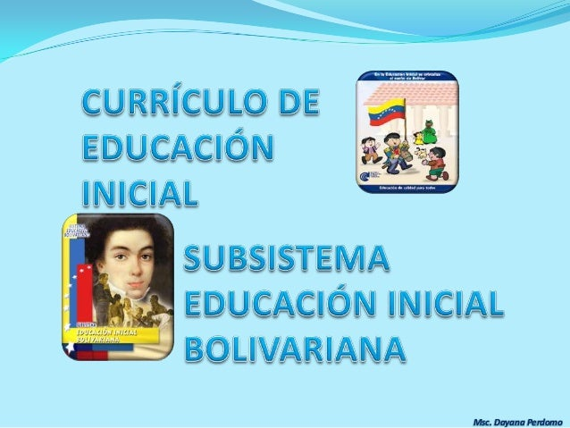 curr culo de educaci n inicial On curriculo educacion inicial
