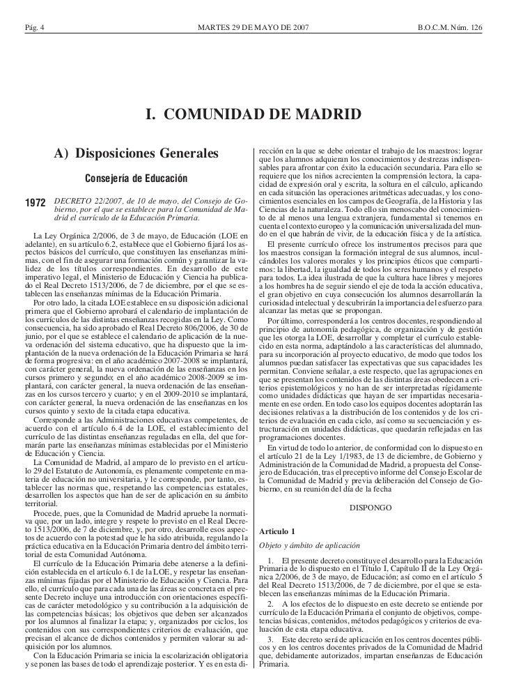 Pág. 4                                                 MARTES 29 DE MAYO DE 2007                                          ...