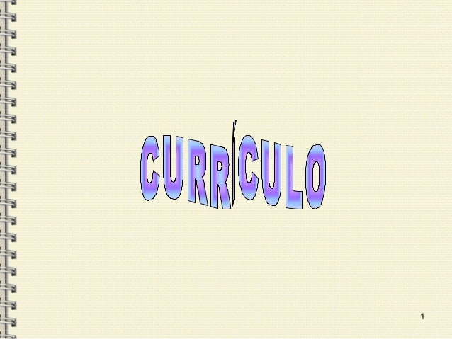 Curriculo sesion 1
