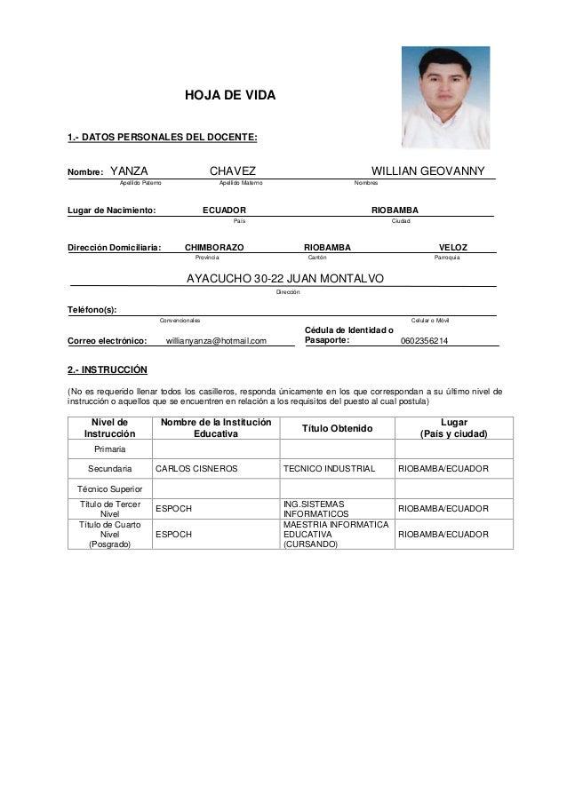 Curriculum vitae webster image 3