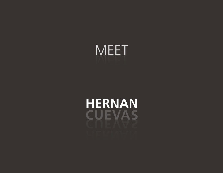 Hernan Cuevas - Visual Profile V.2.0