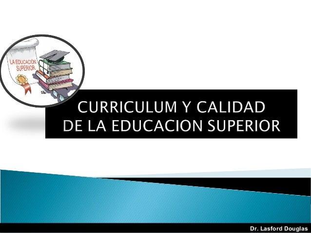 Curriculum calidad-