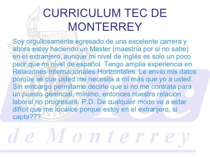 Curriculum Universidades Leon =D xD